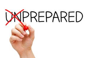 be prepared, prepared, research, market research
