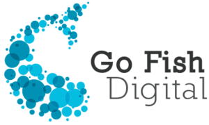 Our sponsor, Go Fish Digital's Logo