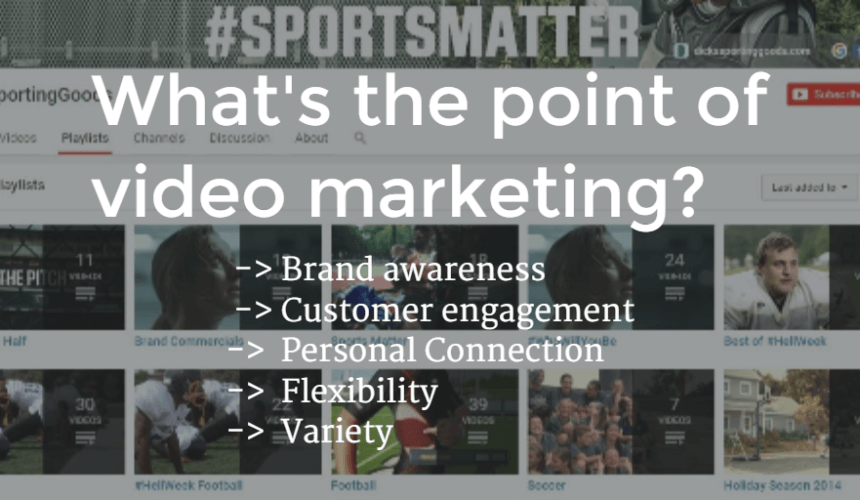 What's the Point of Video Marketing?