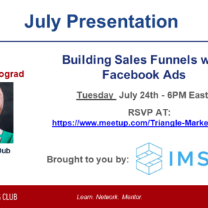 Creating selling funnels W / Facebook Ads – Susan Wenograd Presenting