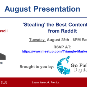 'Stealing' the Best Content Ideas from Reddit – Daniel Russell – Go Fish Digital