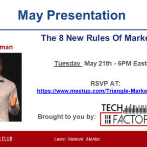May Speaker Blog: Mark Fidelman